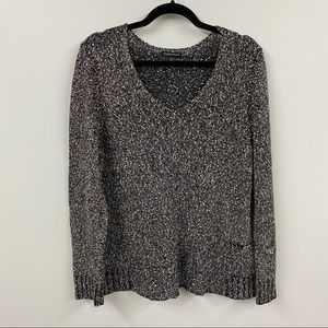 Eileen Fisher Marled Cotton Sweater